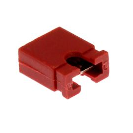 Červený JUMPER otevřený RM2.54mm Xinya 116-B-G 2