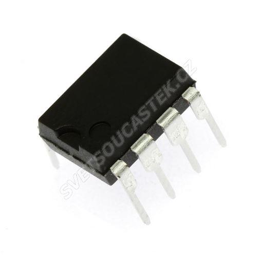 Sériová EEPROM 256x8 Vcc 2.7..5.5V I2C DIP8 STM M24C02-WBN6P