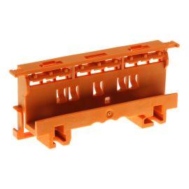 Upevňovací adaptér na DIN lištu oranžový WAGO 221-500