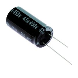 Elektrolytický kondenzátor radiální E 47uF/450V 18x35.5 RM7.5 85°C Jamicon SKR470M2WL35M