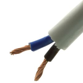 Flexibilní kabel dvojlinka CYSY 2x1mm bílý H05VV-F 500V