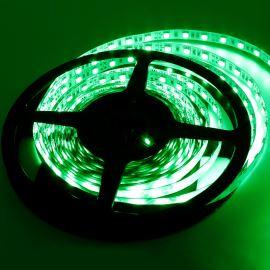 LED pásek zelená délka 1 metr, SMD 5050, 60LED/m - nevodotěsný STRF 5050-60-G
