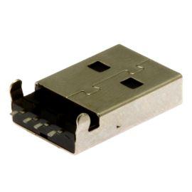 Konektor USB A SMD vidlice úhlová 90° Connfly DS1098-BN0