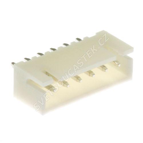 Konektor pro ploché kabely 6 pinů (1x6) RM2.5mm do DPS přímý Joint Tech A2501WV-6P