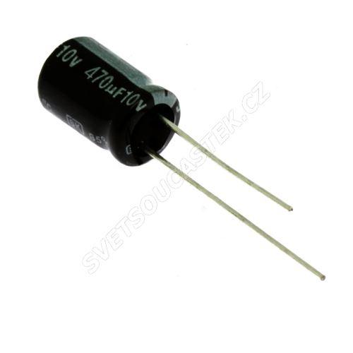 Miniatur-Elkos radial 10V 20% 85°C (SKR471M1AF11M)