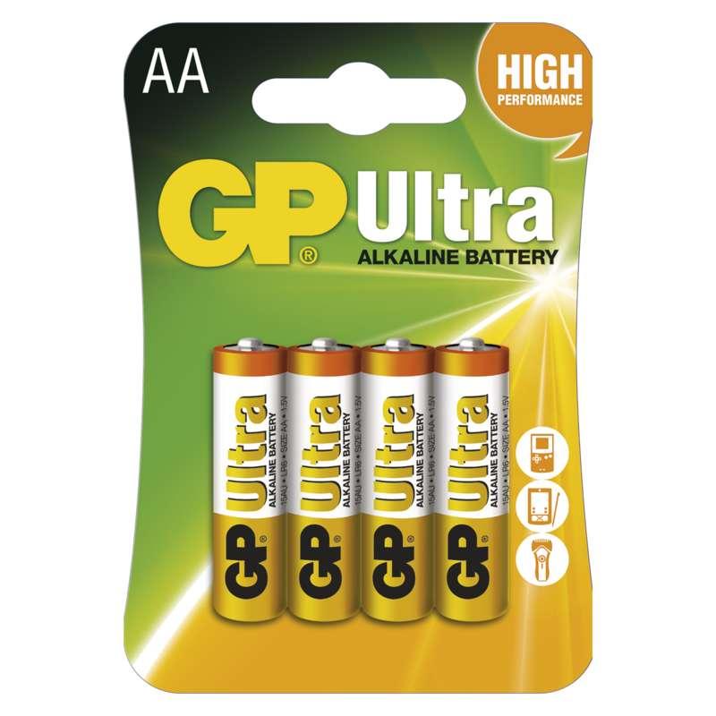 GP Ultra LR6 (AA), 4 ks v blistru