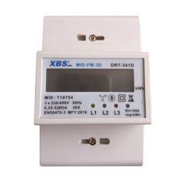 Elektromer 3F na DIN lištu s MID certifikátom
