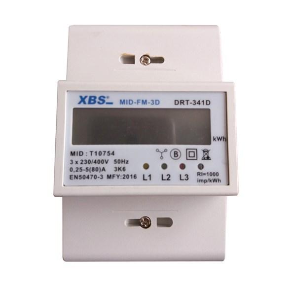Tipa Elektroměr 3F na DIN lištu s MID certifikátem