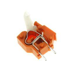 Svorkovnice s tlačítkem do DPS oranžová 250V/16A WAGO 257-746