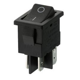 Kolébkový spínač do panelu spínací 2-pólový ON-OFF 10A/250V AC Bulgin H8550VBACA