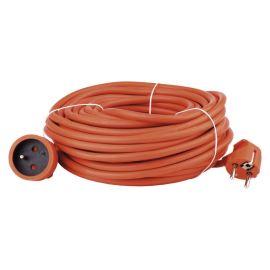 Predlžovací kábel oranžový 3x1,5mm 1 zásuvka 30m