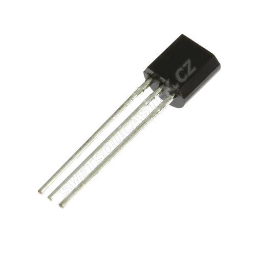 Lineární napěťový regulátor vstup max. 30V výstup 5V 0.1A TO92 STM L78L05ABZ