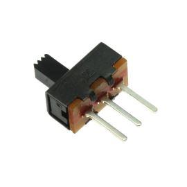 Posuvný spínač do DPS přepínací 1-pólový ON-ON 50V DC 0.5A 1P2T