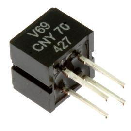 Reflexní optočlen s fototranz. 950nm Vceo 32V Ic 50mA Vishay CNY70