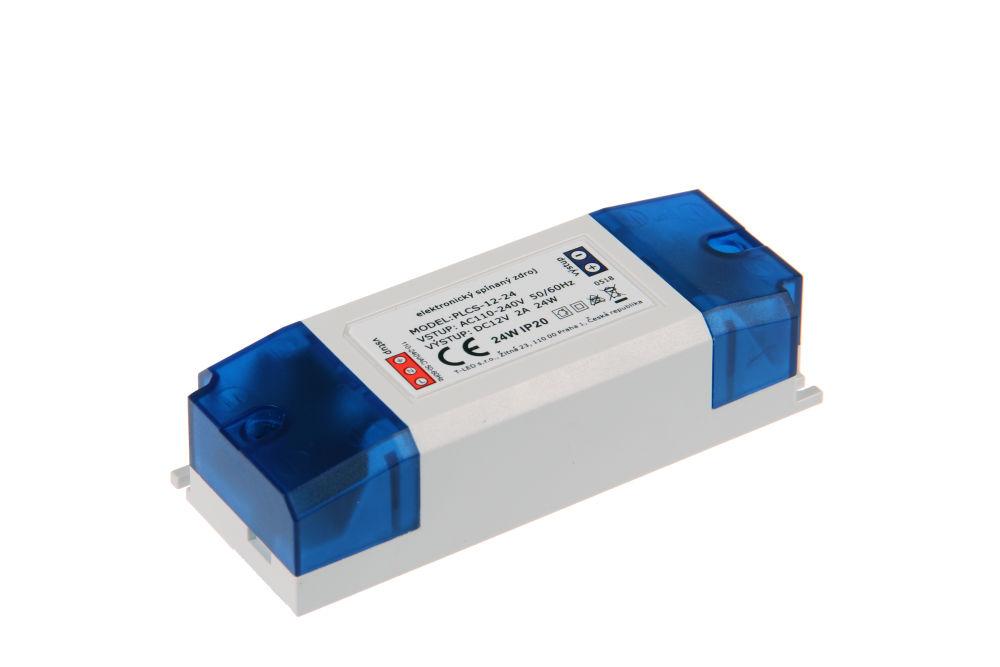 Napájecí zdroj pro LED pásky PLCS-12-24