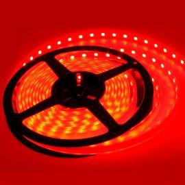 LED pásek červená, SMD 5050, 60LED/m (balení 5m) - vodotěsný (silikon) STRF 5050-60-R-IP66