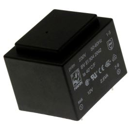 Trasnformátor do DPS 2.6VA/230V 1x12V Hahn BV EI 304 2042