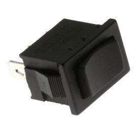 Kolébkový spínač do panelu přepínací 1-pólový ON-OFF-ON 6/3A 125/250V AC Jietong  MRS-103-2C1-B/B