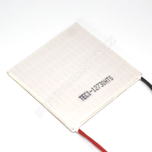 Peltierův článek 350W 62x62mm Hebei TEC1-12730HTS
