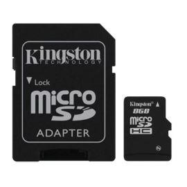 Paměťová karta + adaptér Micro SDHC 8GB Class 10 KINGSTON