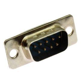 Konektor CANON 9 pinů vidlice do DPS přímá Xinya 101-09 P C B N S