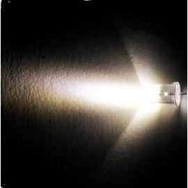 LED 5mm teplá bílá 50000mcd/8° čirá Optosupply OSM5DK5201A