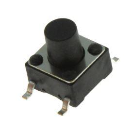 Mikrospínač do DPS SMD spínací 1-pólový OFF-(ON) 0.05A 12V DC Ninigi TACTM-67N-F