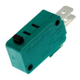 Mikrospínač na faston 6.3mm přepínací 1-pólový ON-(ON) 10A 125/250V AC Jietong  MSW-01