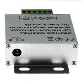 Stmívač pro jednobarevné LED pásky s dálkovým dotykovým ovladačem RF 433MHz