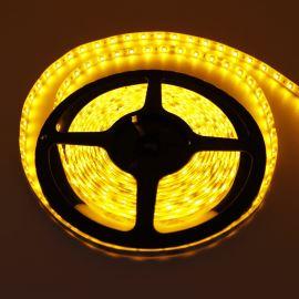 LED pásek žlutá délka 1 metr, SMD 3528, 60LED/m - vodotěsný (silikagel) - IP65 STRF 3528-60-Y-IP65
