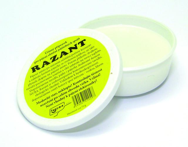 Pájecí krém RAZANT 75g Nuba