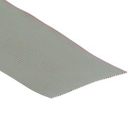 Plochý kábel AWG28 37 žil licna rozteč 1,27mm PVC šedá farba
