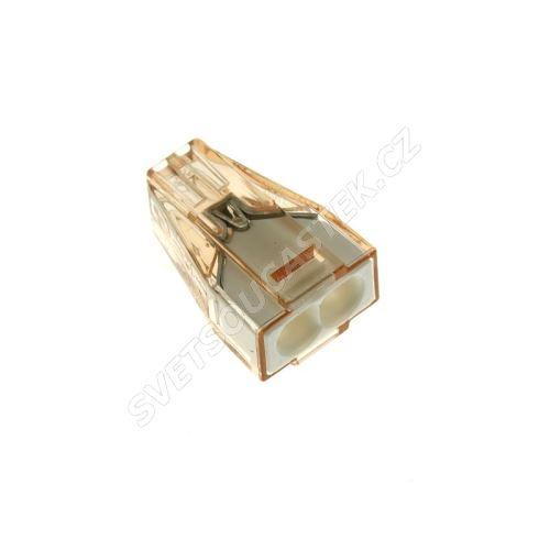 Wago svorka krabicová transparentní 400V/32A WAGO 773-602