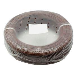 Jednožilový vodič lanko 1x0.5mm hnědý H05V-K (LgY, CYA) 300/500V