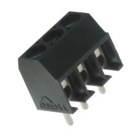 Šroubovací svorkovnice do DPS 3 kontakty 13.5A/130V RM3.5mm šedá barva PTR AK550/3DS-3.5-V-GREY