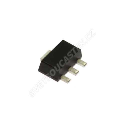 Tranzistor bipolární PNP 60V 1A SMD SOT89 1.5W Diodes Inc. BCX5216TA