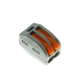 Wago svorka krabicová šedá 400V/32A WAGO 222-412