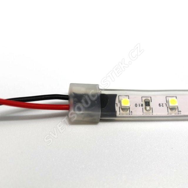 LED pásek žlutá, SMD 3528, 60LED/m (balení 5m) - vodotěsný (silikon) STRF 3528-60-Y-IP66