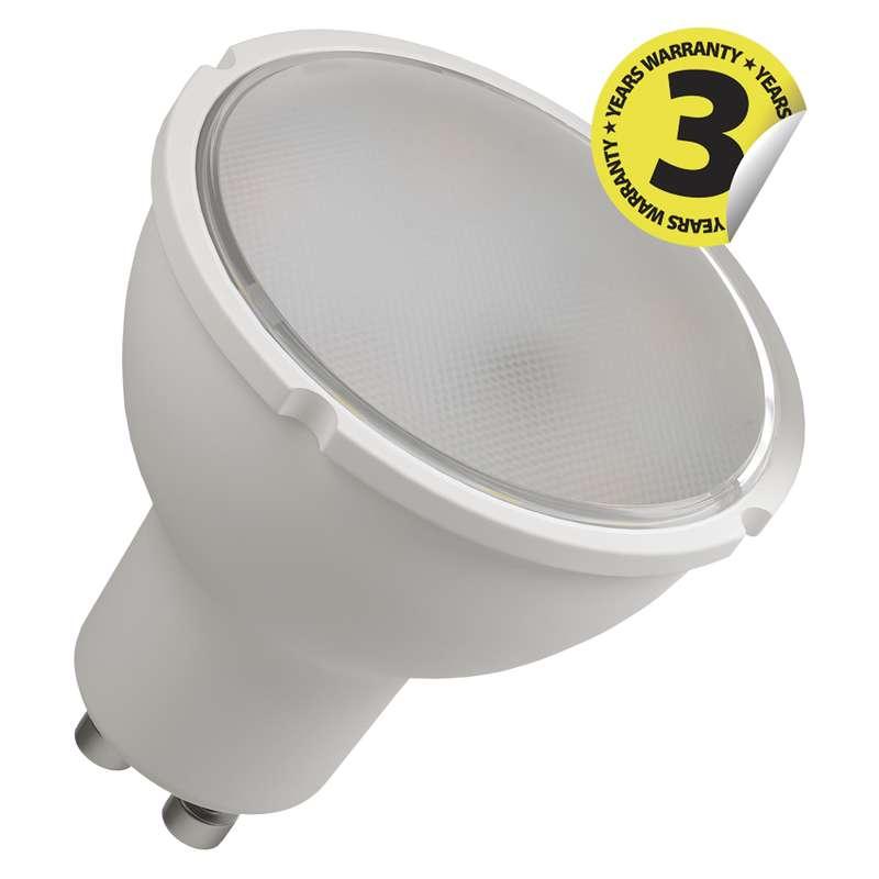 Emos LED žárovka Classic MR16 4,5W GU10 studená bílá