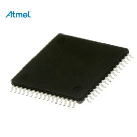 8-Bit MCU AVR CAN 2.7-5.5V 64K-Flash 16MHz TQFP64 Atmel AT90CAN64-16AU