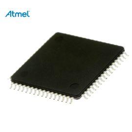 8-Bit MCU AVR 4.5-5.5V 64kB Flash 16MHz TQFP64 Atmel ATMEGA64-16AU