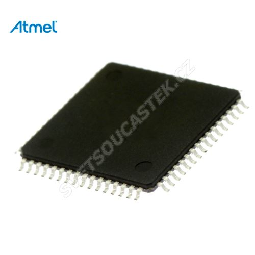 ATMEL 8Bit-AVR-ISP-Flash-Microcontroller (ATMEGA64L-8AU)