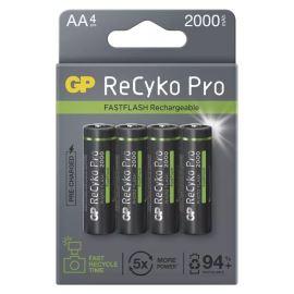 Nabíjecí baterie GP ReCyko+ Pro 2100 HR6 (AA), 4 ks v papírové krabičce