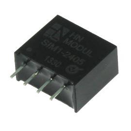 DC/DC měnič vstup 24V, výstup 5V 0.2A SIL4 HN Power SW1-2405S