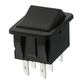 Kolébkový spínač do panelu přepínací 2-pólový ON-OFF-ON 16A/250V AC Arcolectric C1570ABAAA