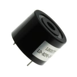 Piezoelektrický měnič 90dB 12VDC 8mA 3.7KHz Loudity LD-BZPG-2412