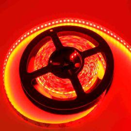 LED pásek červená délka 1 metr, SMD 3528, 120LED/m - nevodotěsný STRF 3528-120-R
