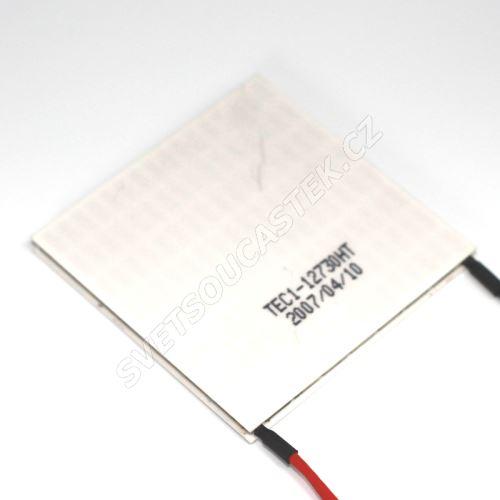 Peltierův článek 350W 62x62mm Hebei TEC1-12730HT