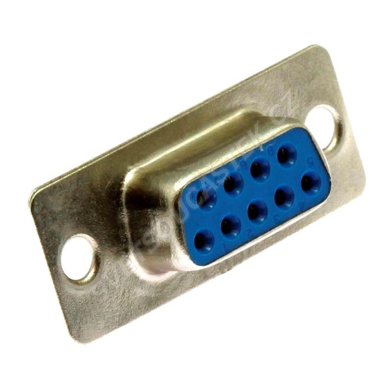 Konektor CANON 9 pinů zásuvka na kabel přímá Xinya 100-09 S C B N S