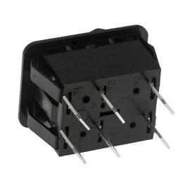 Kolébkový spínač do panelu přepínací 2-pólový ON-ON 16A/250V AC Bulgin C1560ABAAA
